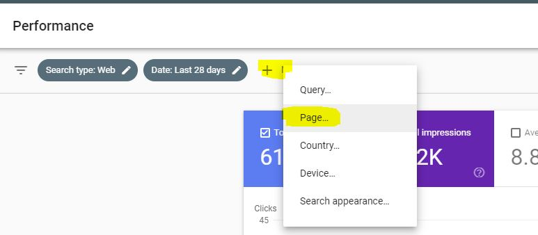 Google Search Console Area to Set for a Single Page or Post of keywords - How to Find Keywords for SEO for Free