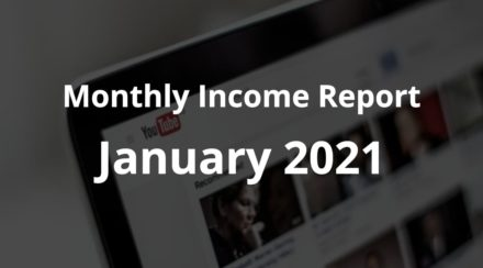 January 2021 - Monthly Income Report