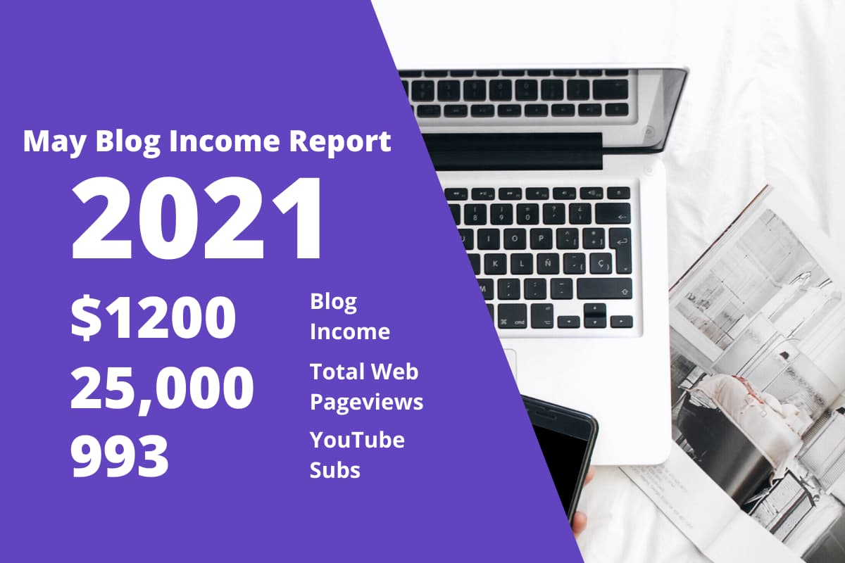 1st May 2021 Blog Income Report