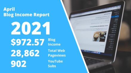 April 2021 – Monthly Income Report